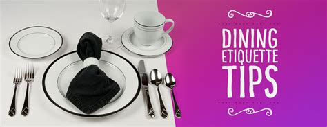 Gift Card Tipping Etiquette - dining etiquette tips for everyday use webstaurantstore blog