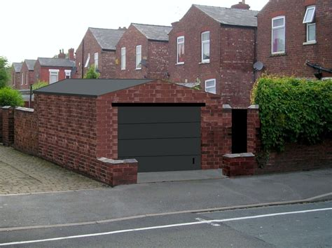 Free Standing Garage by Free Standing Brick Garage Build Garages Sheds In