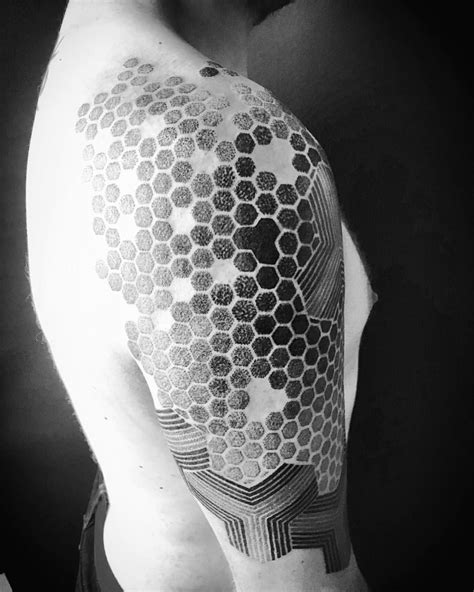 honeycomb tattoo honeycomb bee honeycombs