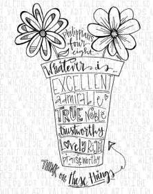 doodle 4 homeschool bible scriptures calligraphy and flower on