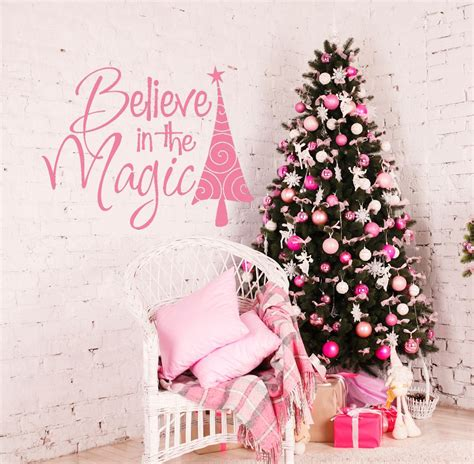 believe holiday decoration news wall decals by amanda s designer decals unmatched quality unmatched style