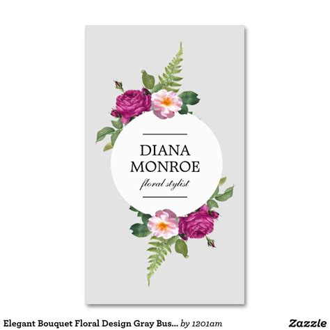 Template That Says Cards Flowers by Designer Business Card Template For Florists Flower Shops