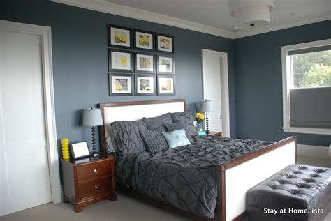 gray master bedroom stay at home ista grey and yellow master bedroom updates
