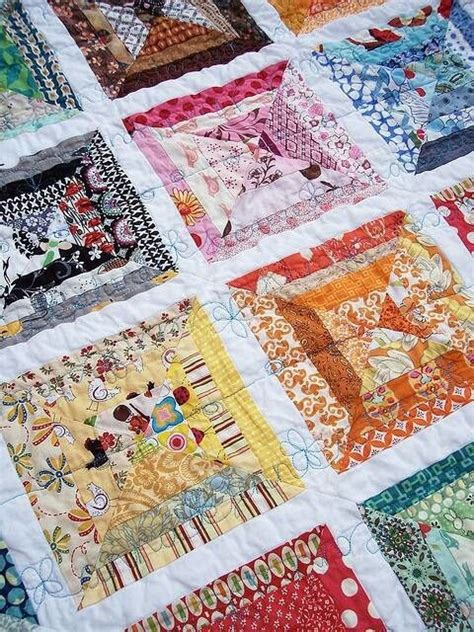 Quilt Scraps by Scrap Quilt Free Motion Quilts Simple Baby