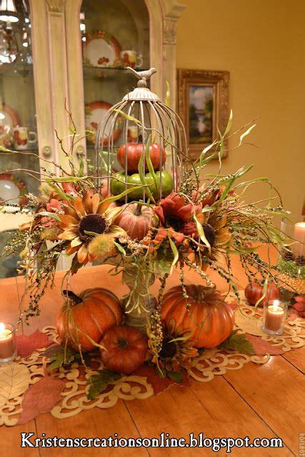 Fall Centerpieces For Dining Table Fall Table Centerpiece Fall Beautiful