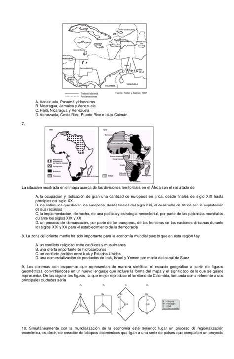 preguntas de geografia de honduras preguntas tipo icfes geografia