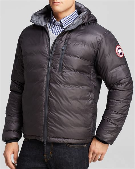 Jaket Sweater Switer Hoodie Ripcurl Pocket lyst canada goose lodge hooded jacket in gray for