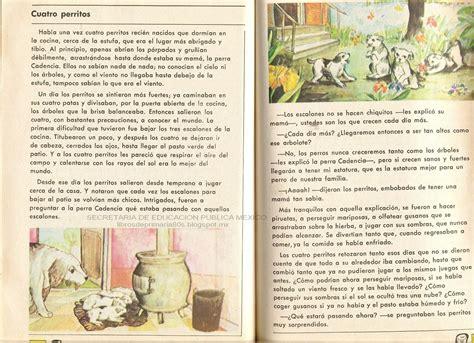 cuento del espaol para 2 grado libros de primaria de los 80 s cuatro perritos espa 241 ol