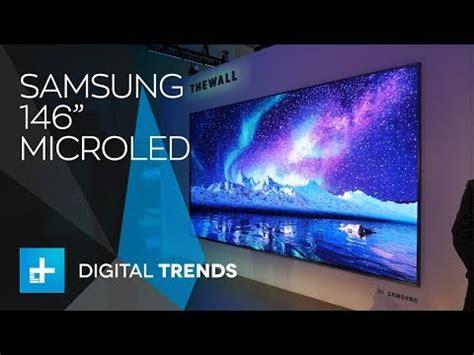 samsung shows      wall tv  ces  doovi
