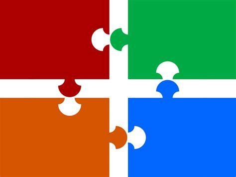 Puzzle Pieces PPT Backgrounds   Powerpoint Templates   PPT