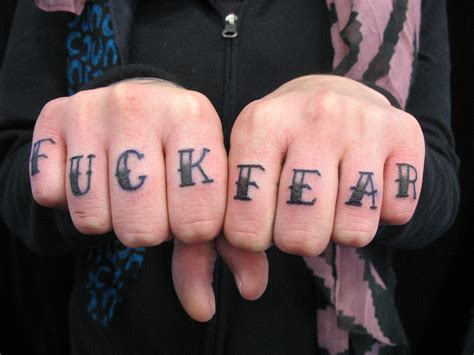 tattoo knuckles love hate all categories