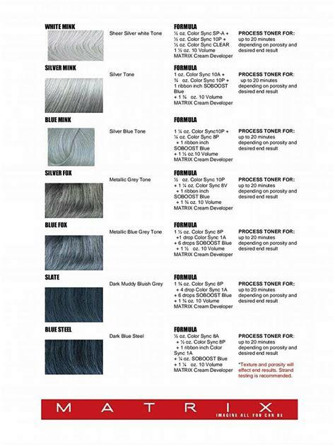 matrix lavender formula silver hair formulas using matrix elizabethjoannehair