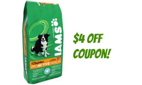 iams food coupons iams coupon 4 food southern savers