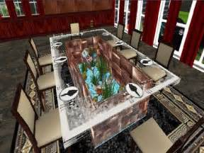 Aquarium Dining Table Coffee Table Fish Tank Will Make Your House Look Fresher