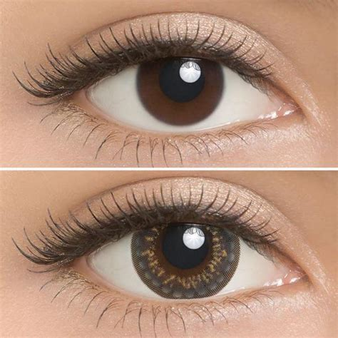 prescription colored contacts buy lilmoon monthly grey non prescription color