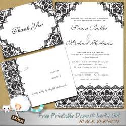 wedding invitation templates free wedding invitation template 2