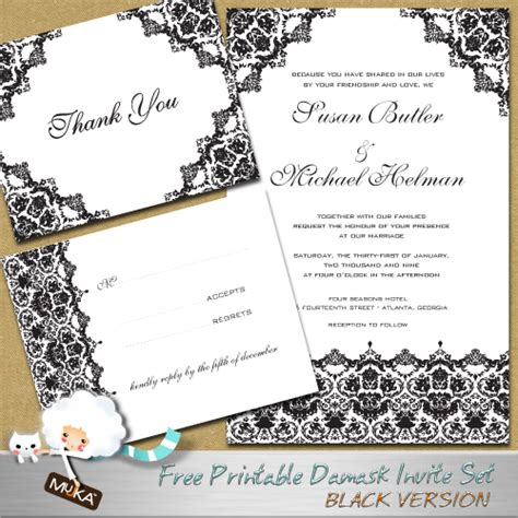 free of charge wedding invitations templates francixvbrown