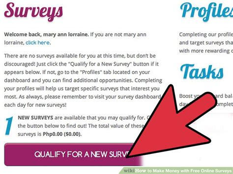 Free Money For Surveys - 3 ways to make money with free online surveys wikihow