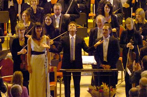Paul Mccartney World Premiere Performance Of Ecce Cor Meum At Royal Albert by Royal Liverpool Philharmonic Orchestra They Turned Paul