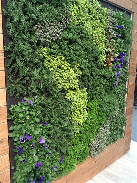 herb wall architectural digest home design show 2013 stylesson