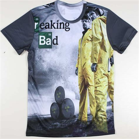 Tees Breaking Bad Diskon 1j8e promotion breaking bad t shirts retro t shirt tv mr