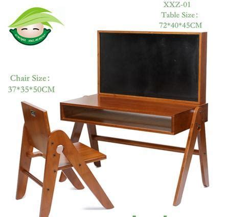 toddler study table and chair adjustable and mulitifunction bamboo detachable study