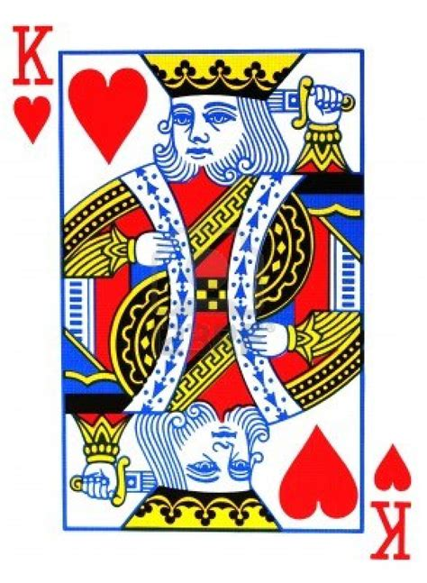 deck of cards tattoo king of hearts card reference images