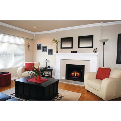 fireplace inserts trim kit singh 26 in electric fireplace insert with flush mount trim kit