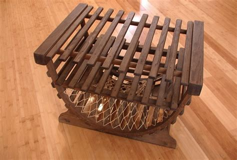 lobster trap table side table coffee table vintage