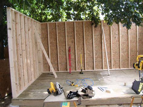 woodcraft folk building  shed  scratch keter