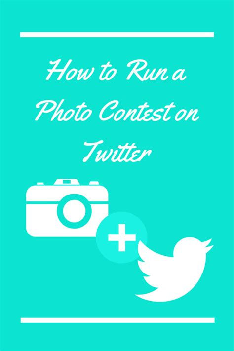 Sweepstakes On Twitter - how to run a photo contest on twitter