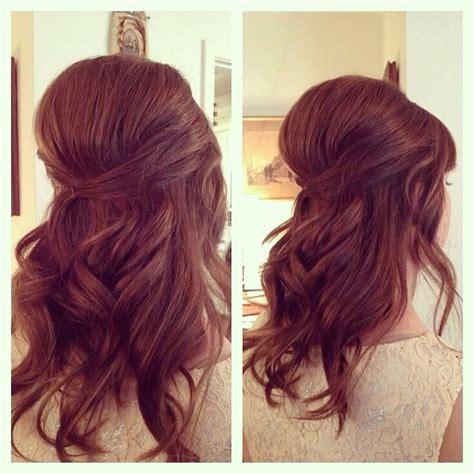 Half Pin Up Hairstyles by Retro Bouffant Half Up Bridal Hair S S Hair