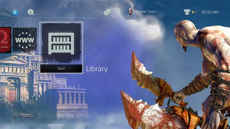 themes god download sony releases 33 ps4 dynamic themes including god of war