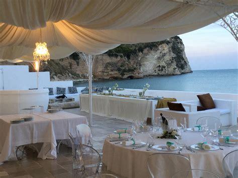 la casa e il mare mattinata banchetti ricevimenti matrimonio sposi gargano mare
