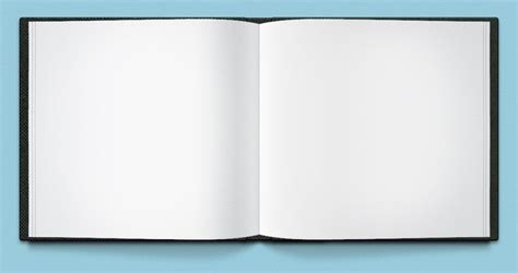 photo book template free open book template