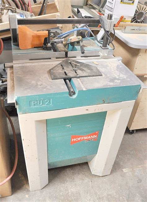 hoffman woodworking used morso hoffman pu2 dovetail routing machine pre owned
