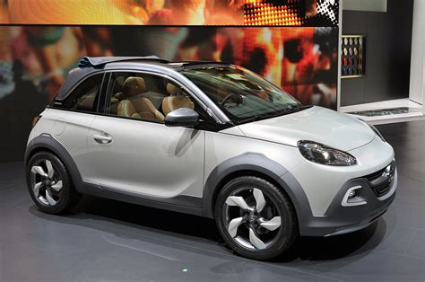 vauxhall adam rocks opel gets crossover cute with the adam rocks concept w