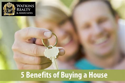 benefits of buying a house articles by author sherry watkins watkins realty associates watkins realty blog
