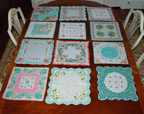 How To Make A Handkerchief Quilt by Lake And Garden Vintage Hankie Quilt