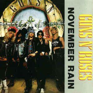 guns  roses november rain cd unofficial release