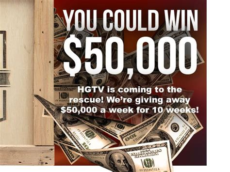 Hgtv Renovation Sweepstakes - hgtv s rescue your renovation sweepstakes