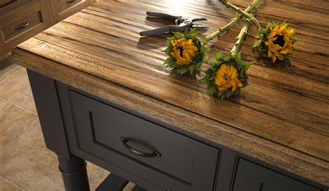 Rustic Wood Countertop rustic wood countertops reclaimed and distressed