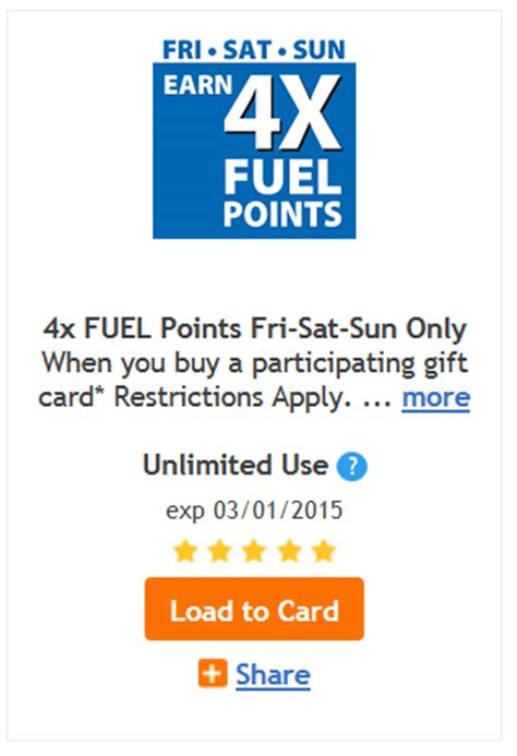Kroger Gift Card 4x Fuel Points 2015 - 4x fuel points when you buy gift cards is back kroger krazy