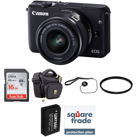 Baterai Canon Eos M10 canon eos m10 mirrorless digital with 15 45mm lens b h