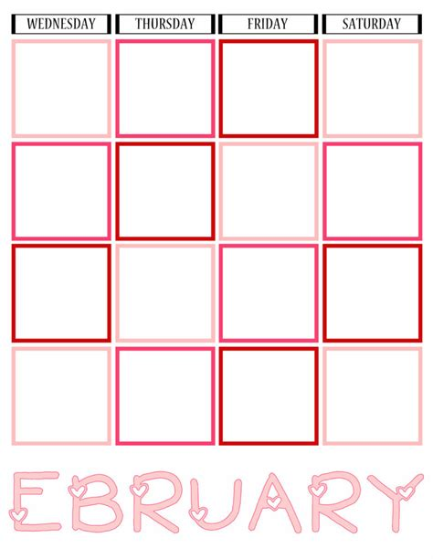 printable journal calendar 2016 february journal calendar printables while he was napping