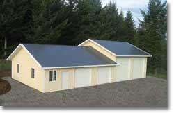 Home Designer Pro Gable Roof Gable Roof Barn Building Kits Hansen Pole Buildings