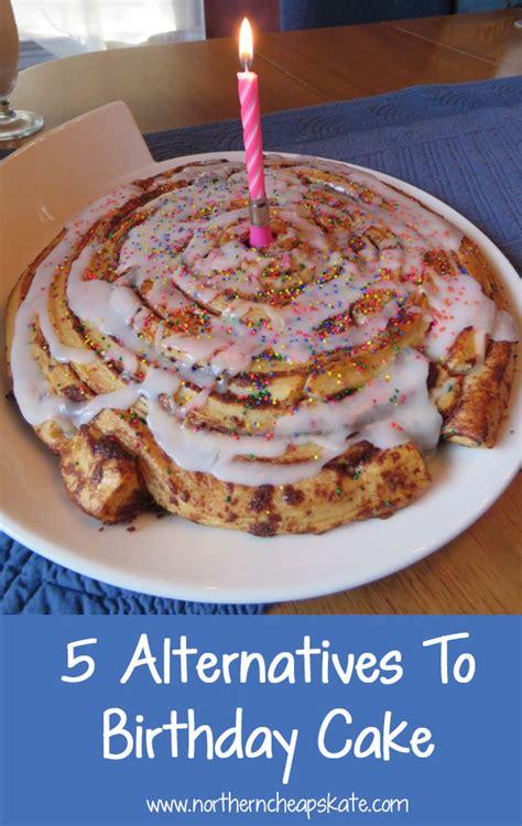 alternatives  birthday cake