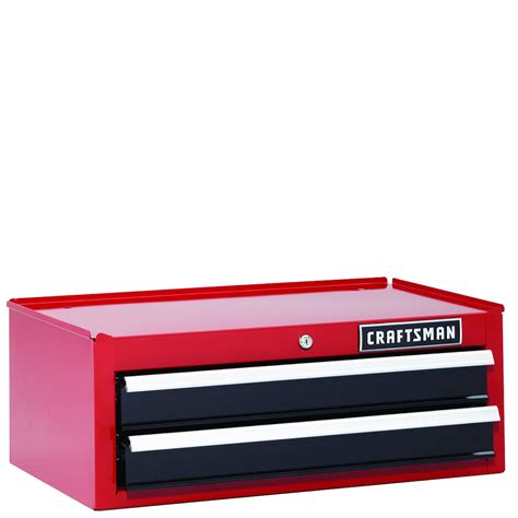 Craftsman 2 Drawer Tool Chest by Craftsman 26 In 2 Drawer Heavy Duty Bearing Middle