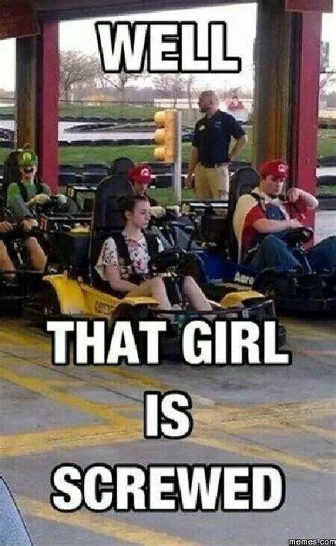 Girl Shopping Meme - well that girl is screwed funny crap pinterest