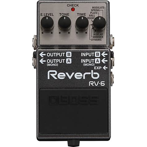 boss dd 3 digital delay pedal musicians friend boss rv 6 digital delay reverb guitar effects pedal